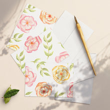 Load image into Gallery viewer, Summer Blooms Greetings Card Set