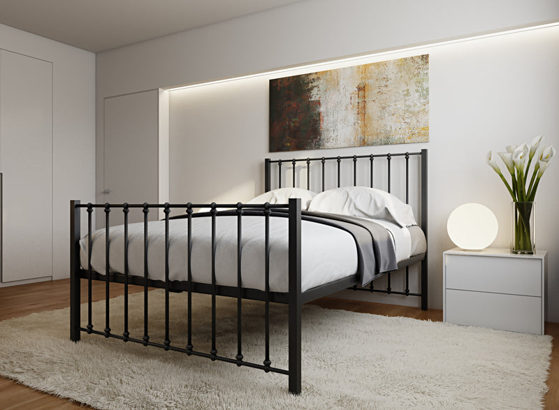 Norfolk Wrought Iron Bed