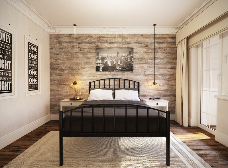 Memphis Wrought Iron Bed