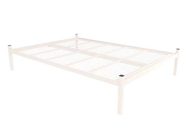 Wroxham Platform Bed in Ivory (Mesh Base)