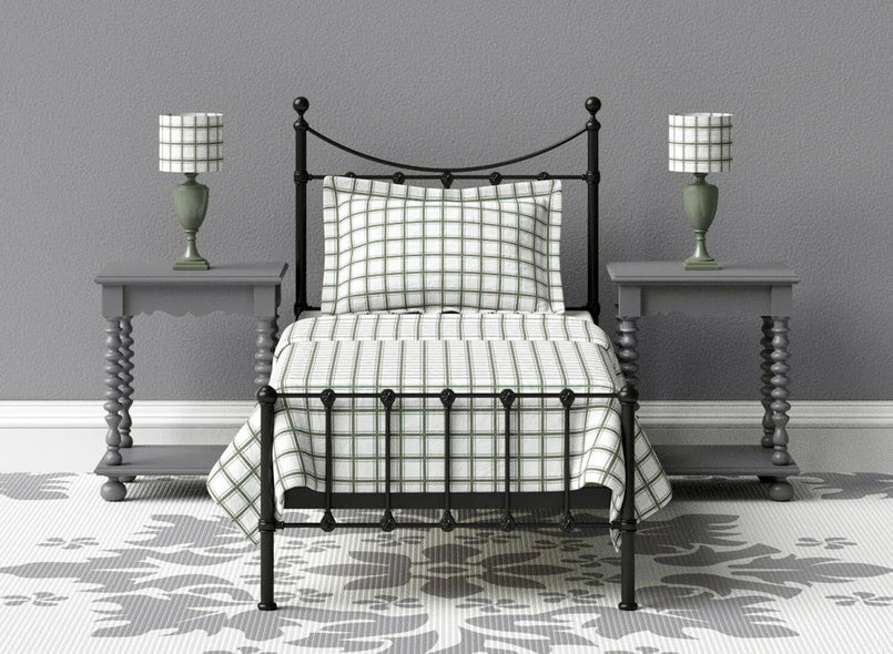 Blake Wrought Iron Bed in Black