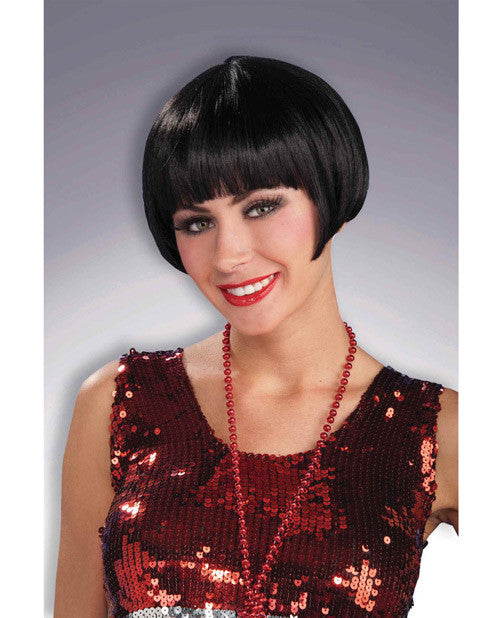Charleston Chic Wig - Black
