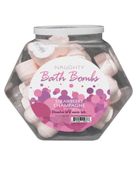 Naughty Bath Bombs Fishbowl - Strawberry Champagne Bowl Of 24