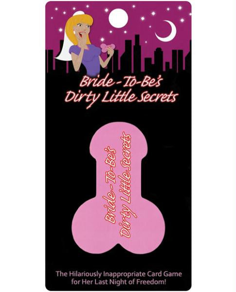 Bride-to-be's Dirty Little Little Secrets Card Game