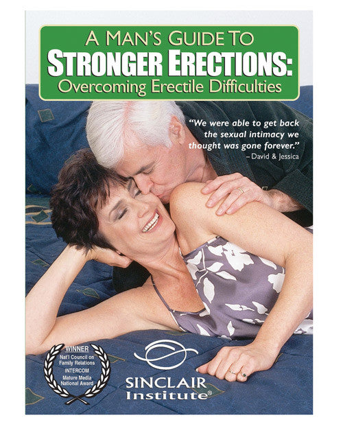 A Man's Guide To Stronger Erections Dvd