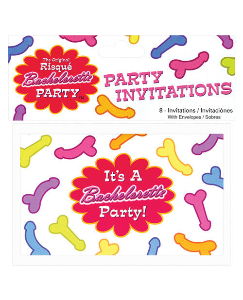 Bachelorette Risque Party Invites - Bag Of 8
