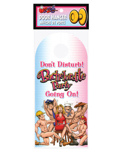 Bachelorette Party Do Not Disturb Door Hanger