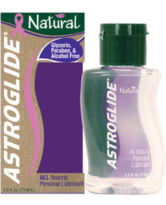 Astroglide Natural Lubricant - 2.5 Oz Bottle