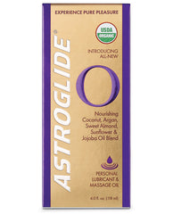 Astroglide O Massage Oil - 4 Oz