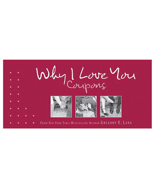New Why I Love You Coupons Book