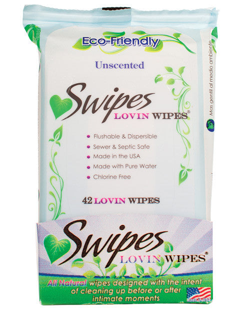 Swipes Lovin Wipes - Unscented 42 Pack
