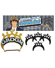Groom To Be Groom Crown Set