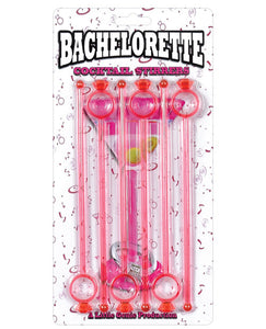 Bachelorette Cocktail Stirrers - Pack Of 6