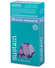 Sustain Condoms Tailored Fit - Pack Of 10