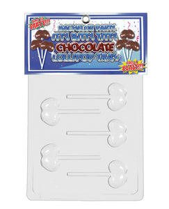 Bachelor Party Itty Bitty Titty Chocolate Lollipop Tray