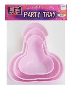 Bachelorette Penis Party Trays - Pack Of 3