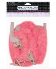 9 Ft Martini Glass Printed Garland W/marabou