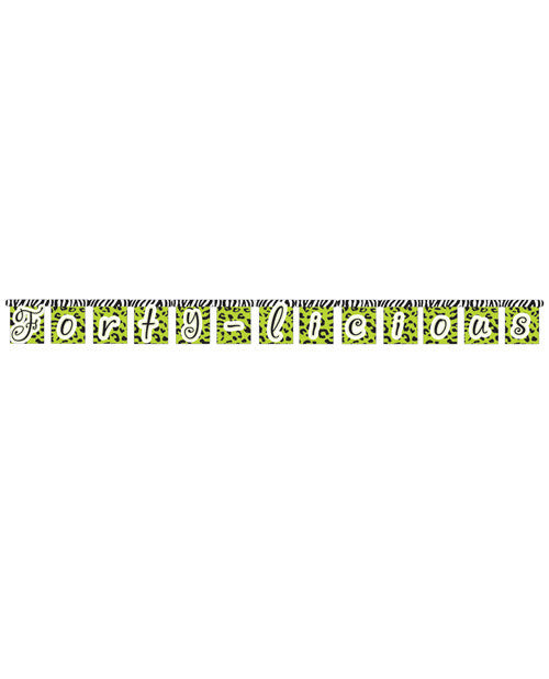 Forty-licious Jointed Banner - Large