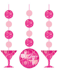 Fabulous Birthday Hanging Cutouts Decorations