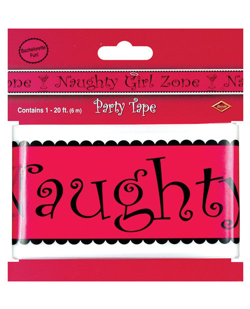 Bachelorette Fun Naughty Girl Zone Party Tape