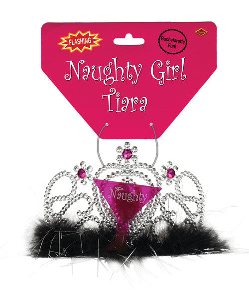 Bachelorette Fun Light-up Naughty Girl Tiara