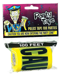 Caution You Are Now Entering The Party Zone Party Tape