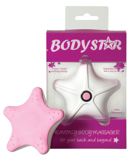 Body Star Massager - Pink & White