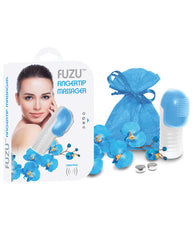 Fuzu Fungertip Massager - Neon Blue