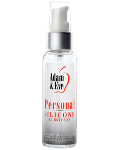 Adam & Eve Personal Silicone Based Lube - 2oz