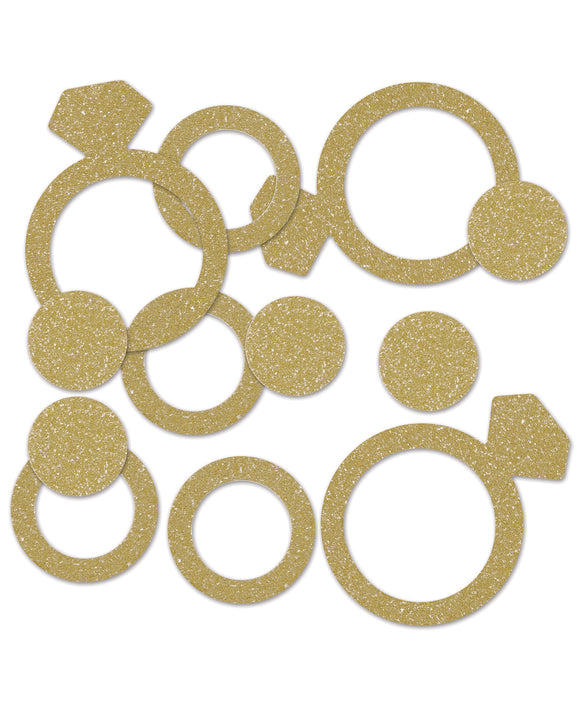 Diamond Ring Deluxe Sparkle Confetti
