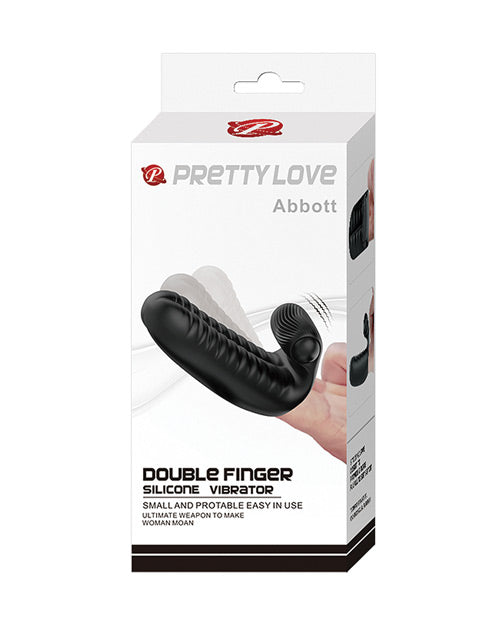Pretty Love Abbott Double Finger Sleeve - Black