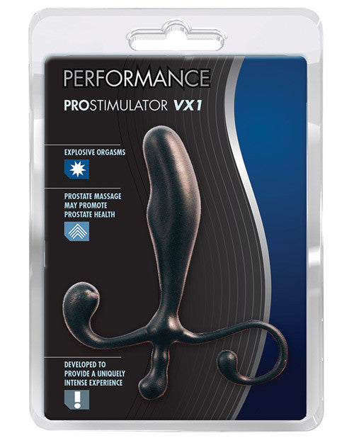 Blush Prostate Massager - Black