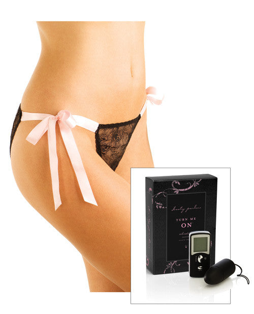 Booty Parlor Turn Me On Vibrating Panties Pink Xl