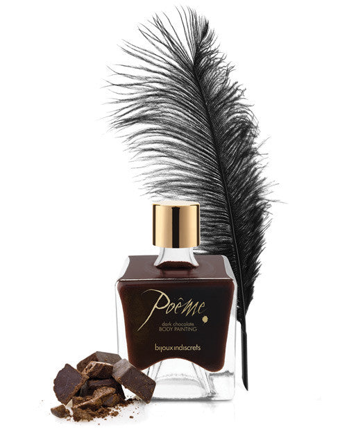 Bijoux Indiscrets Poeme Body Paint - Dark Chocolate