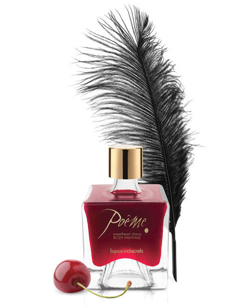 Bijoux Indiscrets Poeme Body Paint - Sweetheart Cherry