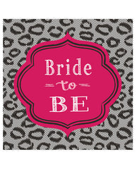 "Bride To Be Bridal Bash 7"" Luncheon Napkins - Pack Of 8"