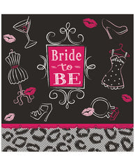 Bride To Be Bridal Bash Table Cover