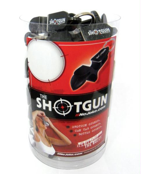 Drink Easy Shotgun Keychain Counter Tub - Tub Of 30