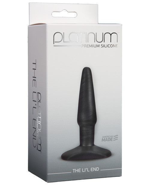 Platinum Silicone The Lil' End - Charcoal