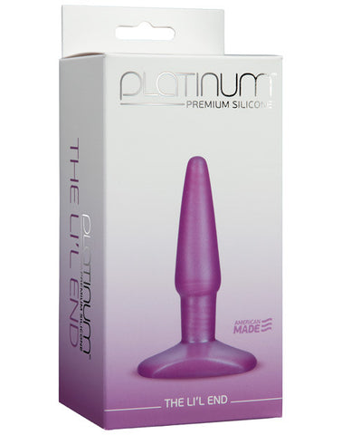 Platinum Silicone The Lil' End - Purple