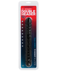"12"" Jr. Double Header - Black"