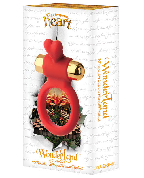 Wonderland The Heavenly Heart 10 Function C Ring - Red