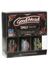 Good Head Oral Gel 3 Pack - Sweet Cherry-cotton Candy-french Vanilla
