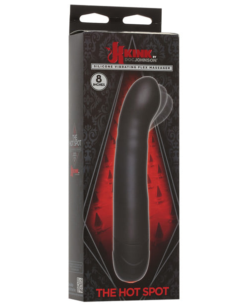 Kink The Hot Spot Vibrating Flex Massager - Black