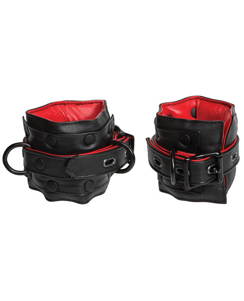 Kink Leather Ankle Restraints