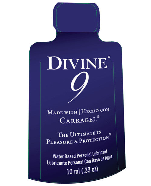 Divine 9 Lubricant - 10 Ml Packet
