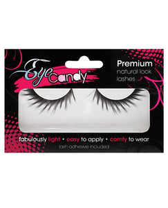 Eye Candy Daphne Dramatic Winged Lashes - Black