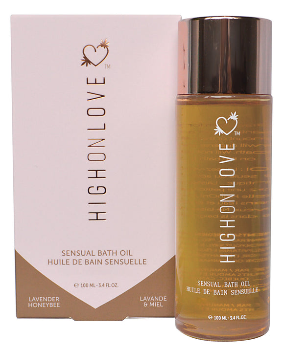 High On Love Hemp Bath Oil - Lavender-honey