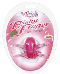 Frisky Frogger W/adjustable Straps