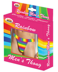 Rainbow Men's Thong